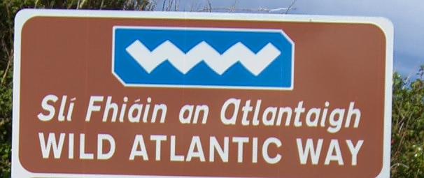 Logo des 'Wild Atlantic Way'