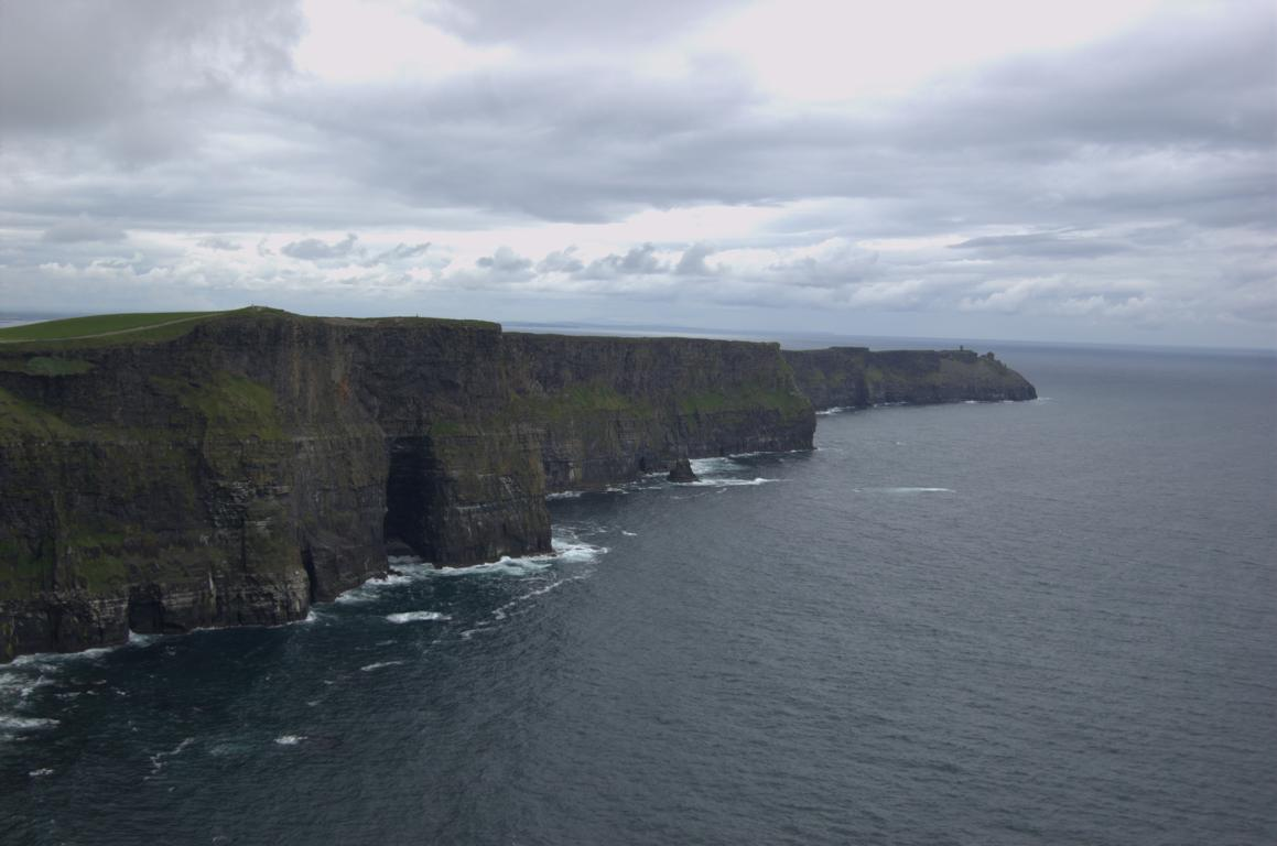 An den Cliffs of Moher